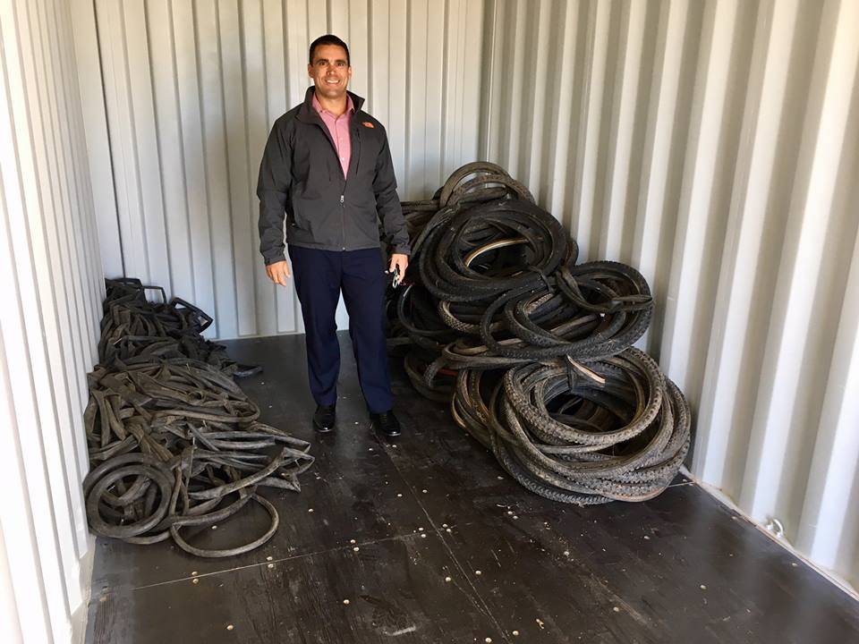 Divert NS Bicycle Tire Recycling Program Launched!