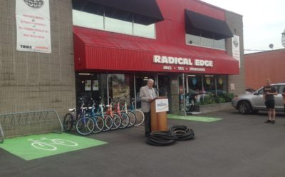Recycle NB adds bicycle tires and tubes to tire recycling program